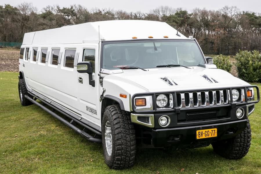 Hoeveel personen mogen er in een limousine?