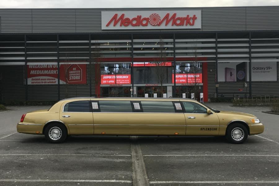Lincoln (gouden) Gouden Limousine huren