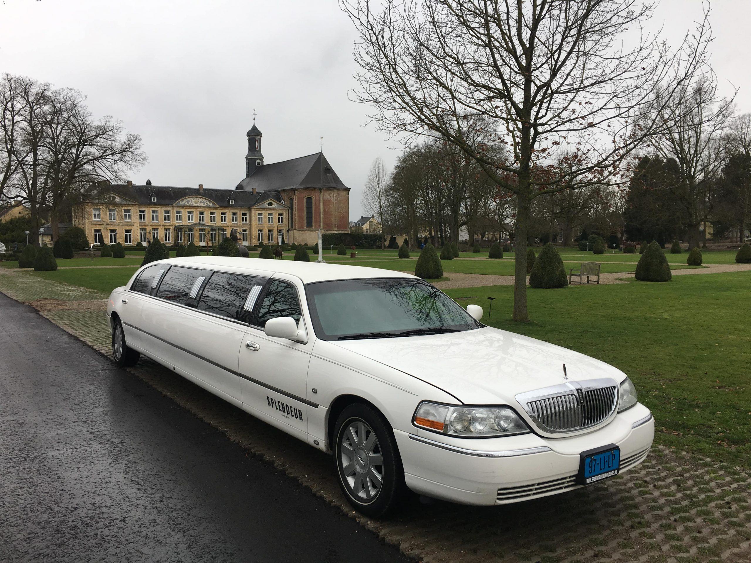 Lincoln Limousine Wit Lincoln Limousine huren