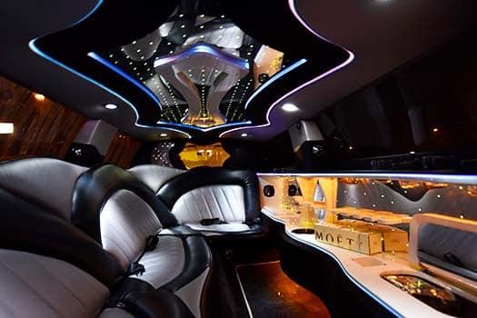 Chrysler limousine WIT Chrysler limousine huren